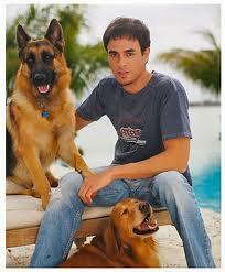 Enrique Iglesias With Lucas