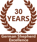 30 Years German Shepherd Excellence