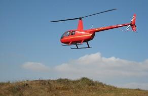 Helicopter at Lundborg-Land