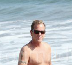 Kiefer Sutherland With Jay Jay